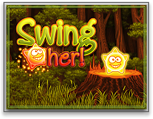 Swing her! iPhone logo