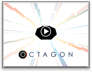 Octagon iPhone logo