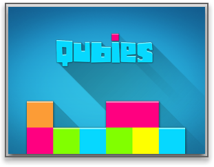 Qubies iPhone logo